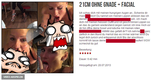 21CM OHNE GNADE + FACIAL
