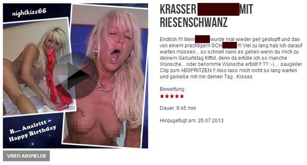 krasser A**LFICK mit RIESENSCHWANZ