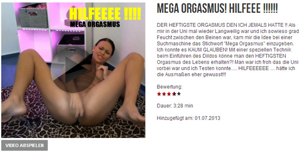 MEGA ORGASMUS! HILFEEE