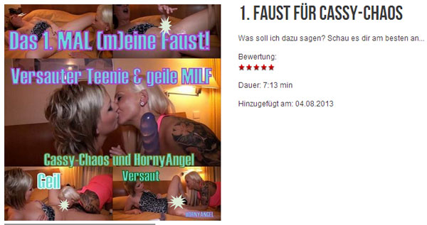 1. Faust für Cassy-Chaos