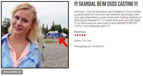 Blonde Hexe: !!! SKANDAL BEIM DSDS CASTING !!!