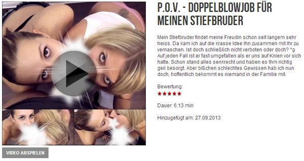 Eva Lopezzz: P.O.V. - Doppelblowjob für meinen Stiefbruder