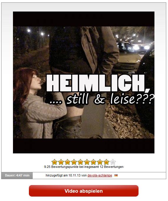 devoteschlampe: Heimlich, still & leise?