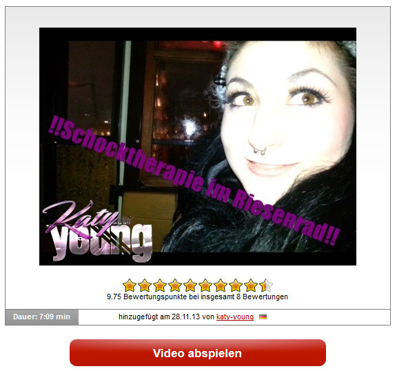 katy-young: Schocktherapie im Riesenrad!!!