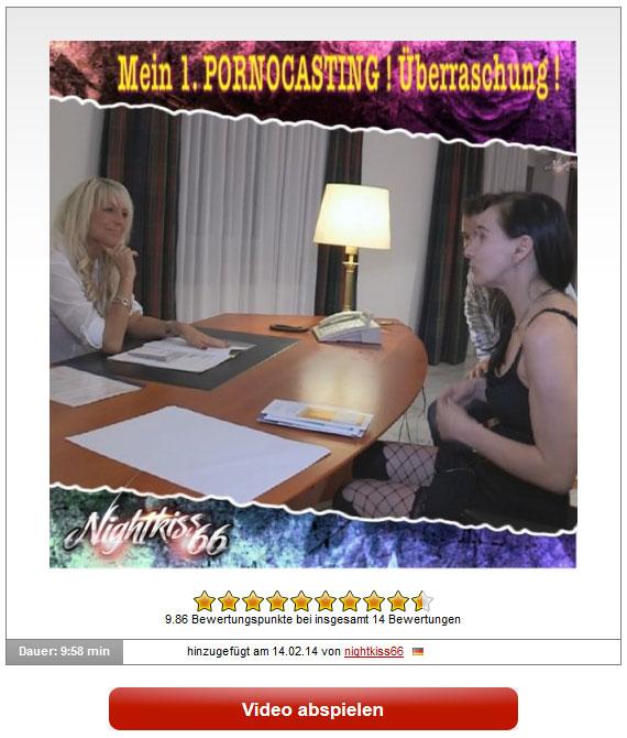 nightkiss66: Mein 1. PORNOCASTING !!!