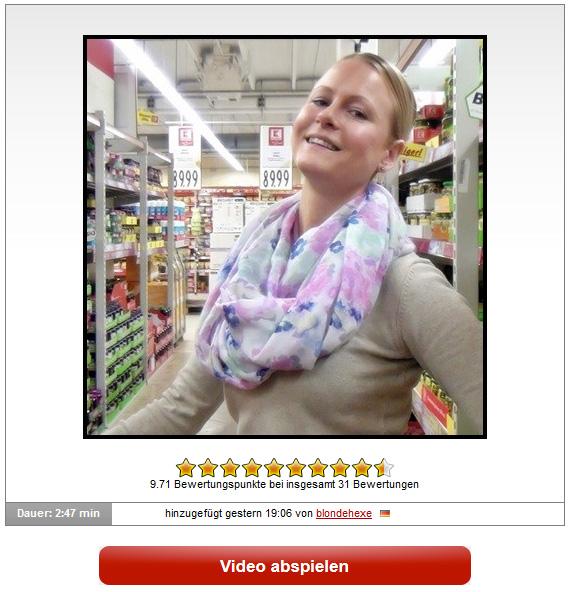 blondehexe: AO PUBLIC IM SUPERMARKT GEFICKT !!!